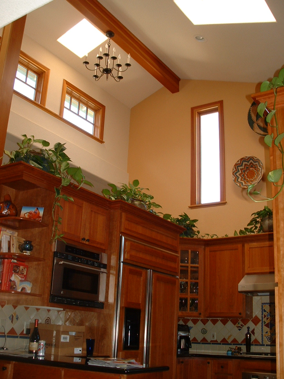 High Ceiling With Decorative Plants Decorating Pinterest